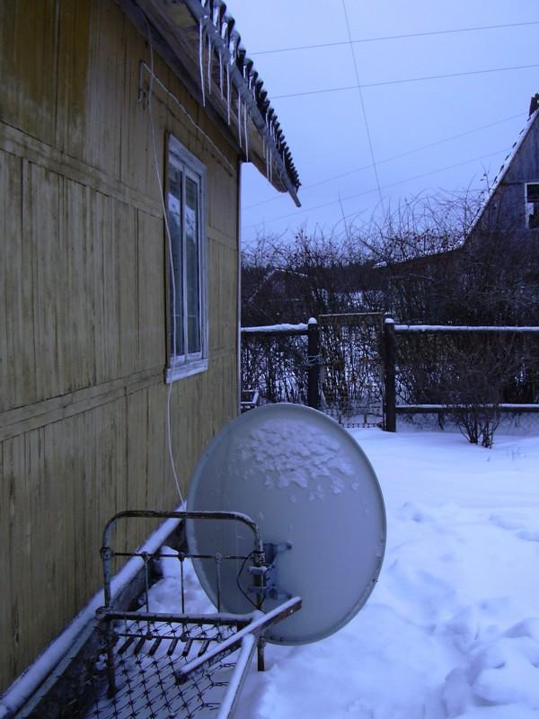 Установка спутниковой антенны своими руками