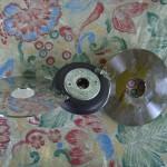 Двухлопастное колесо