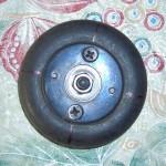 Разметка колеса под четыре лопасти