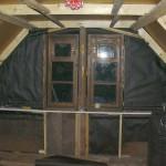 Каркас потолка и фронтона