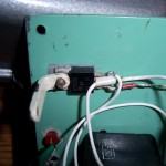 Крепление транзистора