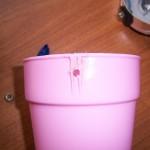 Отверстие в чашке