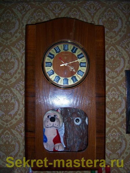 Ремонт настенных часов своими руками