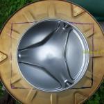 Разметка барабана