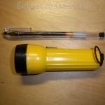 Батарейный светодиодный фонарь