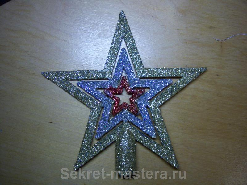 Звезда наконечник для установки светодиодов