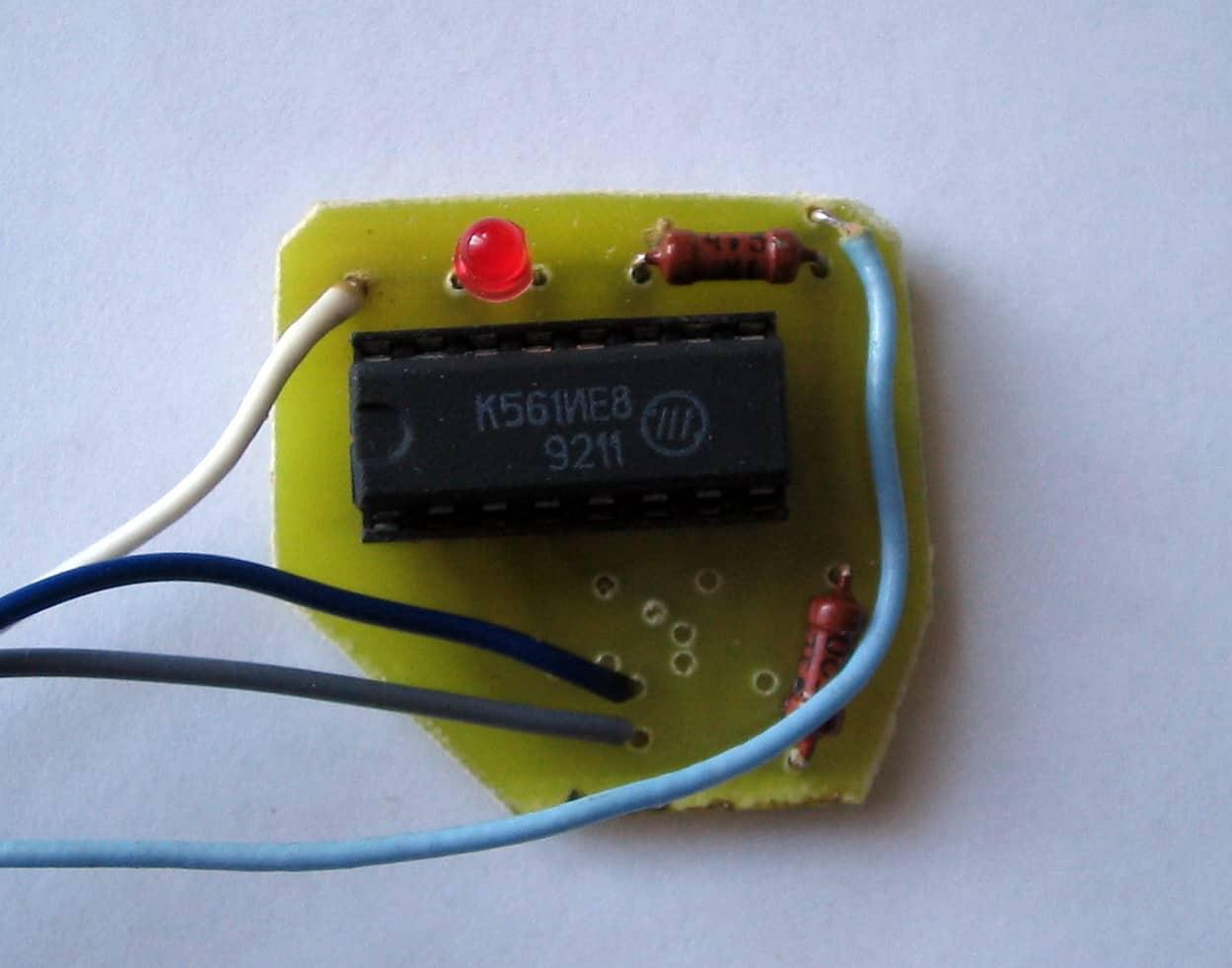 Самодельные электронные часы, элементная база часть 1 95