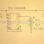 Схема электронной части