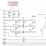 Фрагмент схемы базы телефона, нас интересуют всего две цепи RX-AF и ТХ-AF
