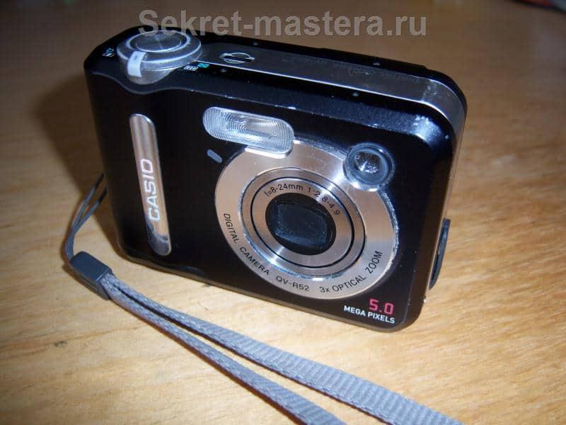 Самодельный ремонт цифрового фотоаппарата