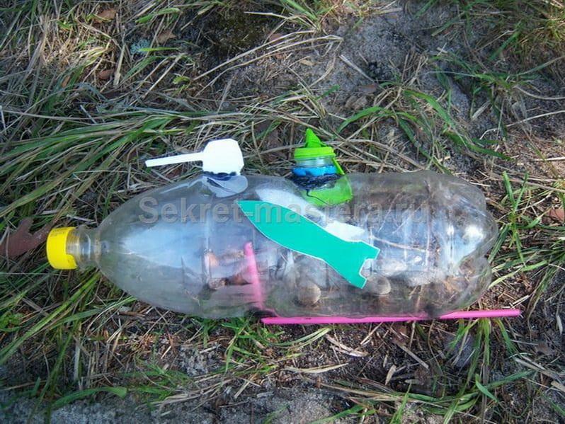 Ветряк из пластиковой бутылки своими руками
