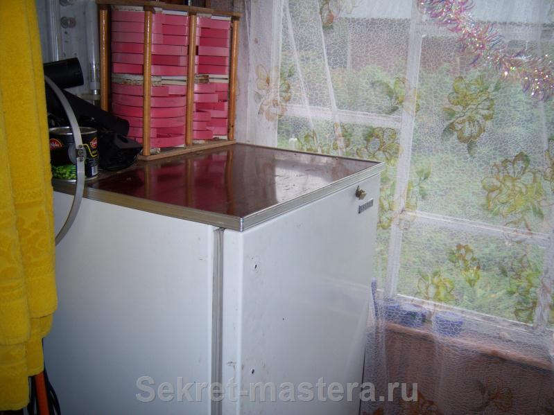 Ларь холодильник своими руками