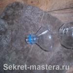 Мышеловка из ПЭТ бутылки с доработками