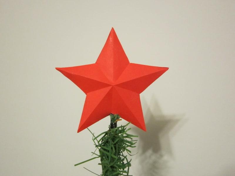 Звезда елочная своими руками