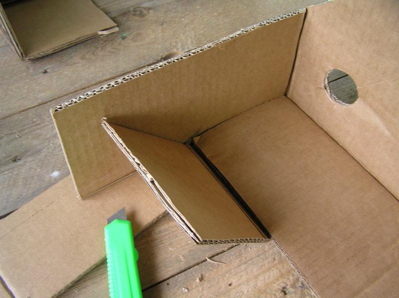 Как сделать корзинки из коробок