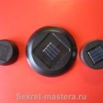 Площади солнечных батарей равны