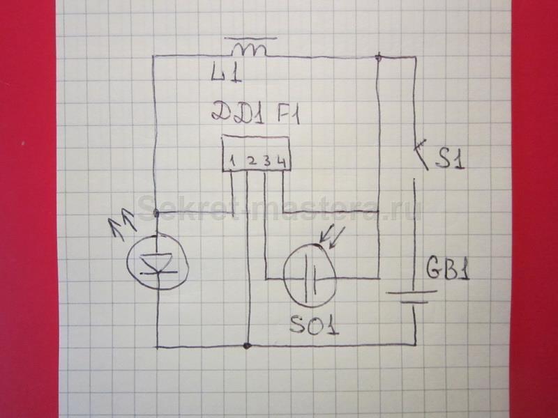 Схема светильника на солнечной батареи своими руками фото 708