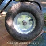 Конструкция здорового колеса