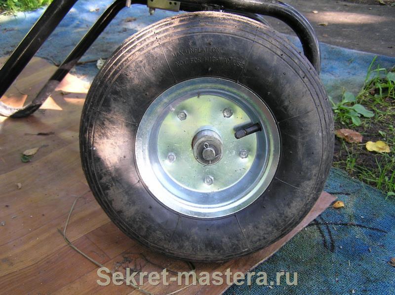 Сделай сам колёса на тачку своими руками 135