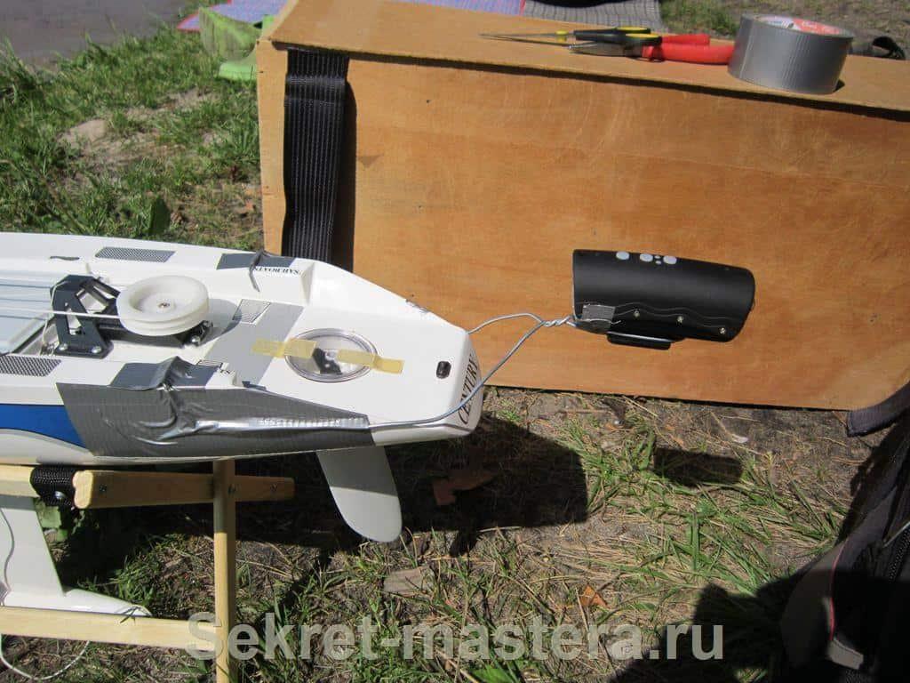 Радиоуправляемая яхта своими руками фото 697