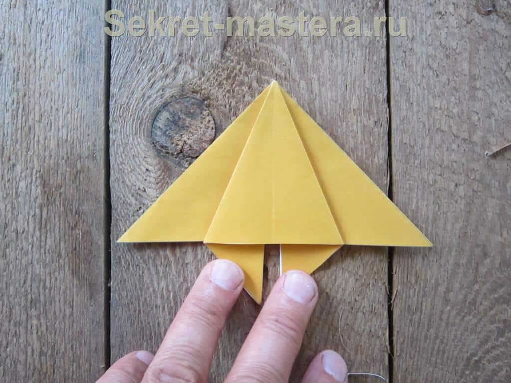 оригами оружия схема в видио