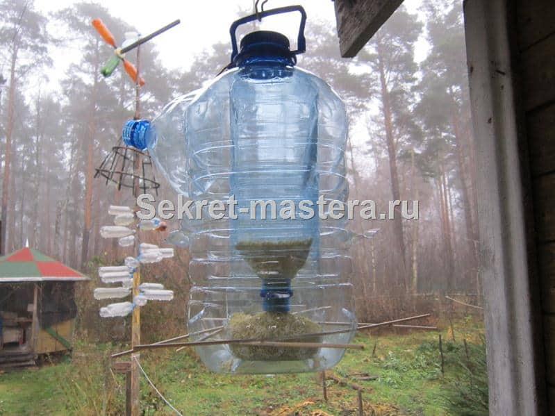 Как сделать кормушку из бутылки 2 литра фото 691