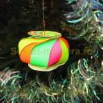Красивый шар на елку