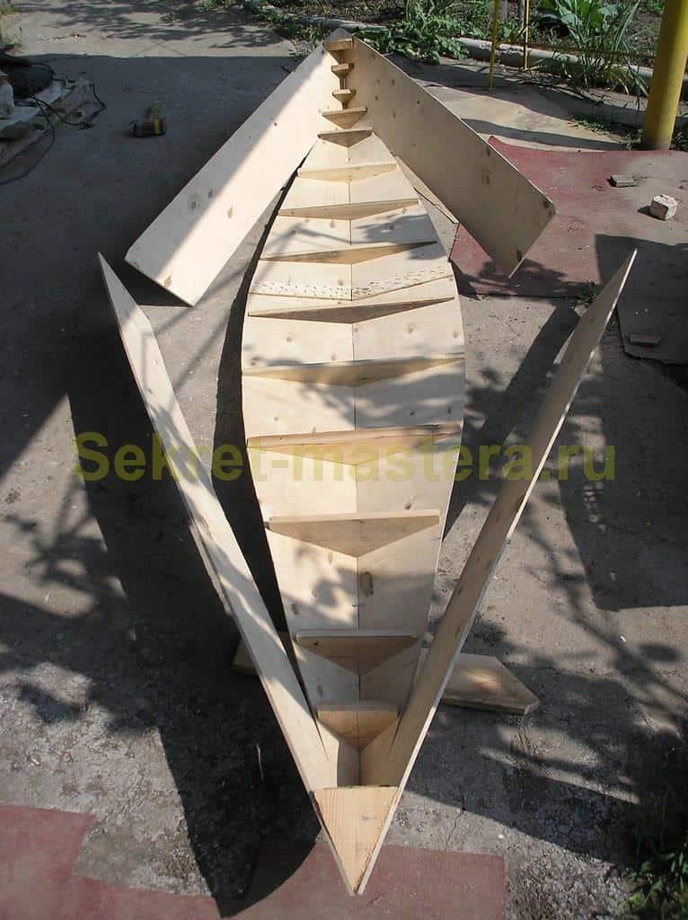 шпангоут лодка своими руками