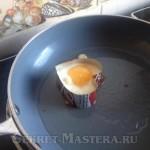 Яйцо в формочке