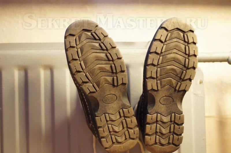 Сушилка для обуви в системе отопления своими руками фото 80