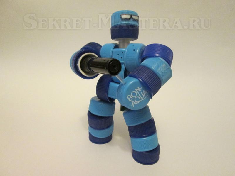Роботы своими руками из подручных материалов для детей 92