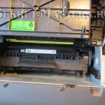 Вынимаем картридж из принтера