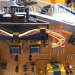 Разъемы силовой платы лазерного принтера