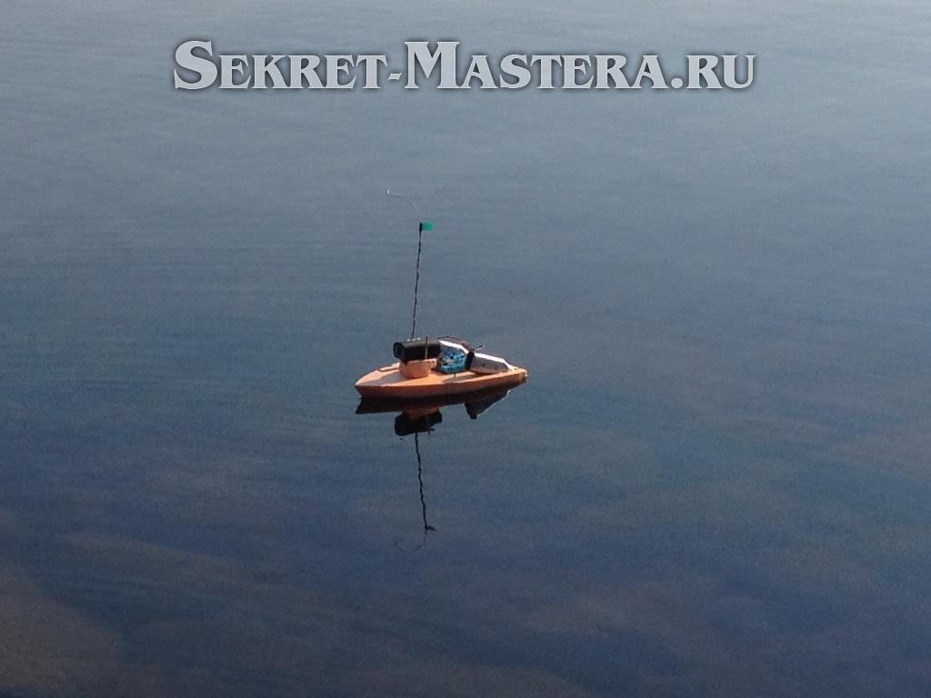 Как сделать радиоуправляемый кораблик 164
