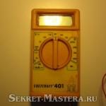 Мультиметр для испытаний работы преобразователя