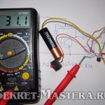 Напряжение на конденсаторе преобразователя напряжения
