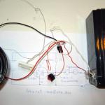 Проверка работы самодельной сигнализации