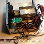Блок питания компьютера - источник ферритовых колец для преобразователя напряжения