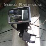 Пример установки видеорегистратора