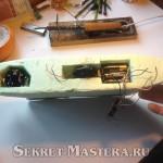 Отсеки радиоуправляемой модели корабля