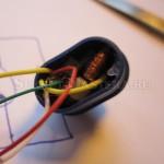 Электроника помещена в нижний колпачок