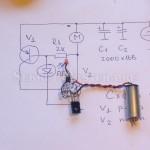 Сборка электронной схемы робота