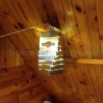 Самодельный подвесной светильник