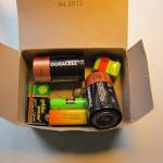 Крупные батарейки