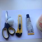 Инструменты и материалы для перевертыша