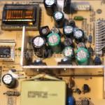 Новые конденсаторы на шасси LT41.1E блока питания