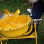Лопасти барабана бетоносмесителя