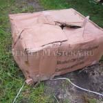 Коробка с бетономешалкой