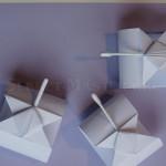 Оригами танчики из бумаги