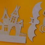 Вырезанные трафареты поделки Хеллоуин